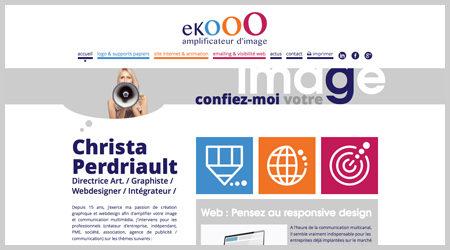 Le 1e Janvier 2015 : Naissance de l'agence de communication ekooo et de son site web le 1e Janvier 2015. L'agence a pour but d'amplifier la communication des entreprises.