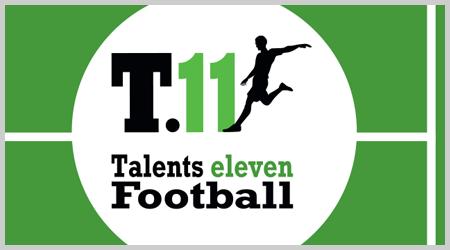 Création du logo et des cartes de visites de Talents Eleven Football - Design et réalisation Agence ekooo