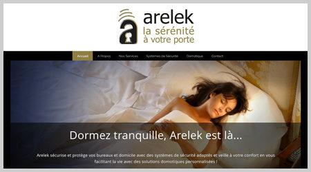 ekooo crée et développe le site web Arelek
