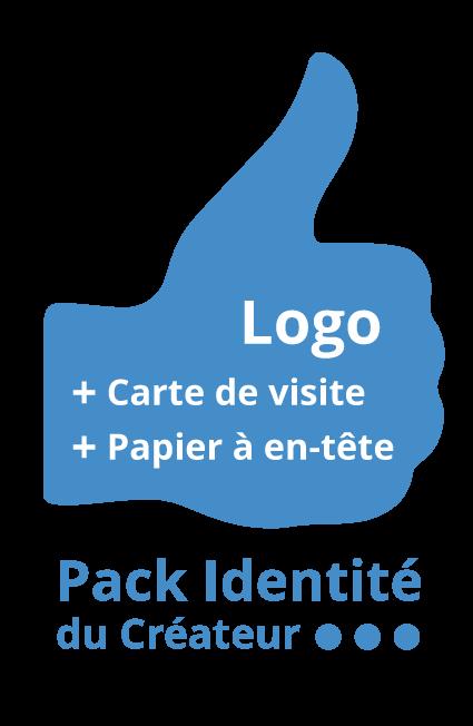 Pack identite du créateur : Création logo, carte visite et papier à en-tête - Agence ekooo Maisons-Alfort (94)